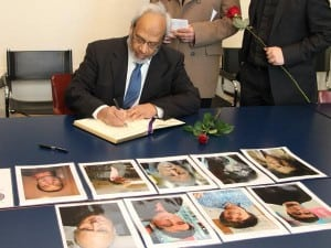Dr Shuja_French Embassy Signing Condolence
