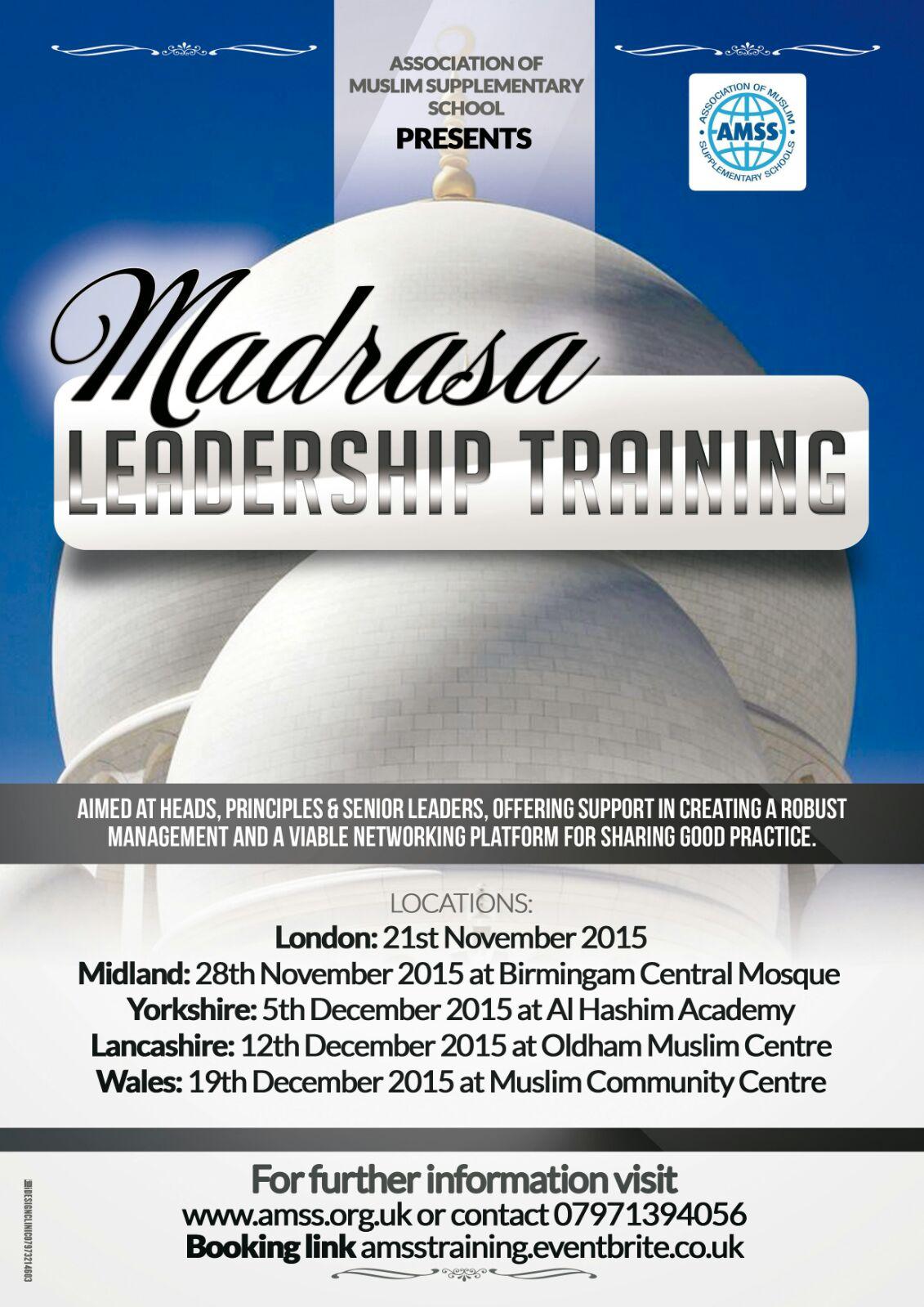 Madrassa Leadership Training Course